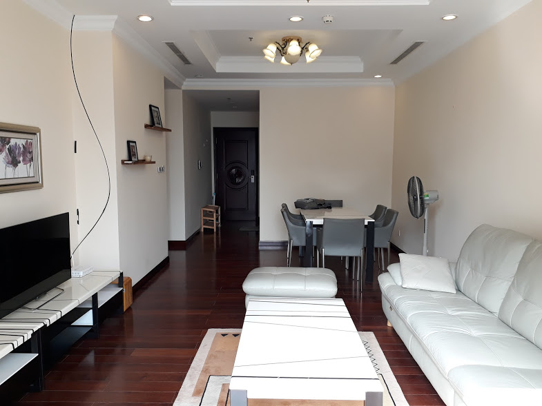90m2 - 2 Bed | 2 Bath high floor, city view apartment for rent in Royal City Hanoi
