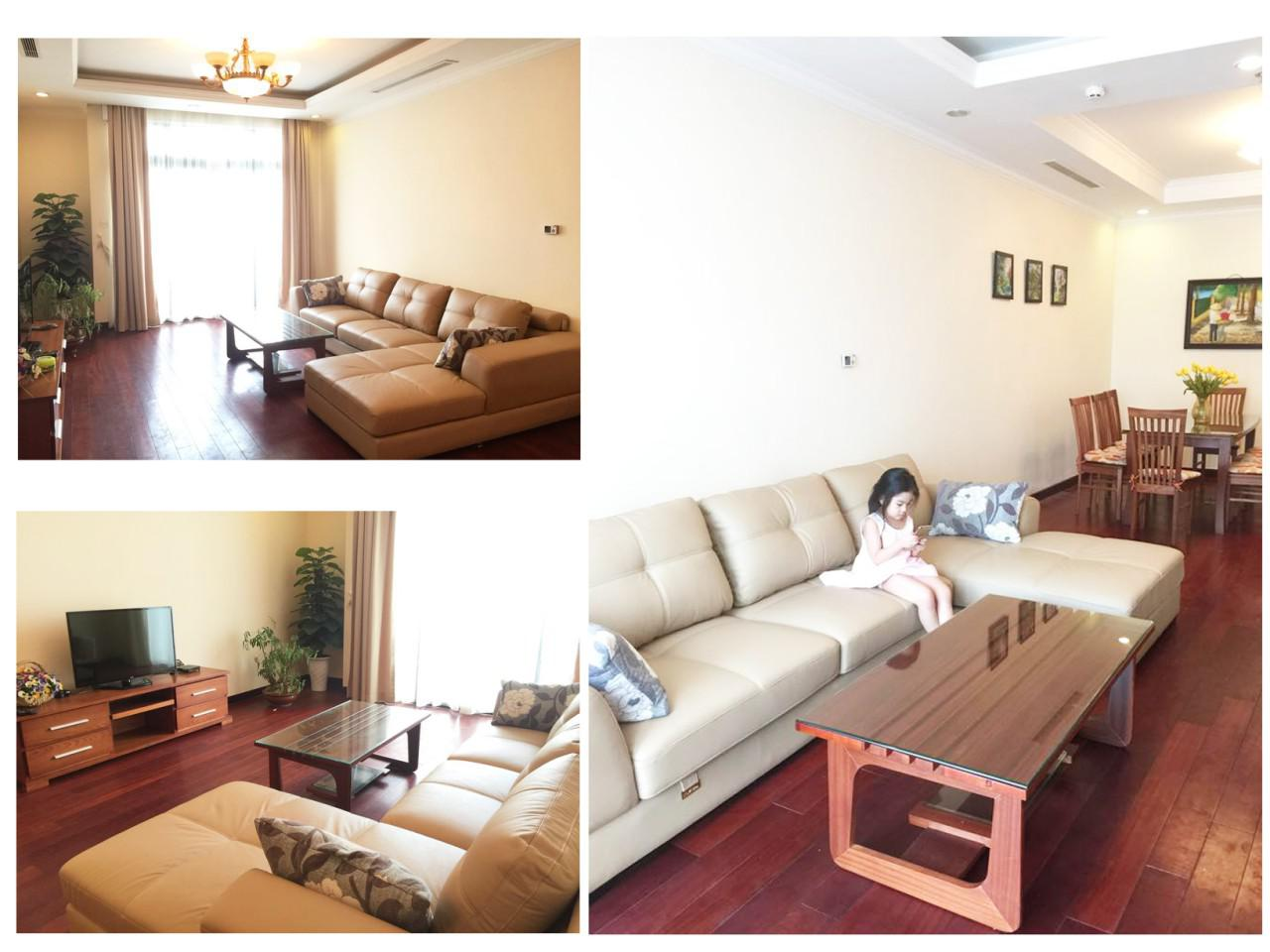 Apartment for rent at R5 Royal City - 132m2 - 2Br / 2Bath - $950